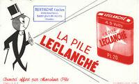 Buvard   La Pile LECLANCHE