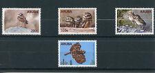 Aruba 2016 MNH Burrowing Owl 4v Set Birds of Prey Owls Stamps