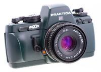 Praktica BX20S Grüne Version SN 4176851 Mit Pentacon Einlage Very Rare 280 Stk.