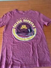 Minnesota Golden Gophers Youth Size Medium 10/12 T Shirt Football