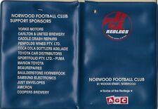 Norwood Football Club Redlegs SANFL plastic card holder