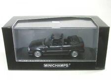Minichamps 400045931 OPEL KADETT GSI Cabriolet 1989 Black Metallic