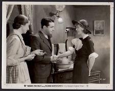 LORETTA YOUNG & RICHARD BARTHELMESS Heroes for Sale 1933 VINTAGE ORIG PHOTO
