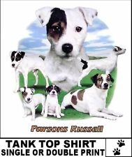 Fun Loving Parsons Jack Russell Terrier Dog Group Tank Top Ws717