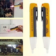 Voltage Tester Pen Non-Contact Electric Volt Alert Detect CAT AC 90-1000V Ku