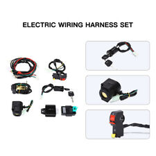 Parts Wiring Harness Set for 50cc 110cc 125cc PIT Quad Dirt Bike ATV Dune Buggy