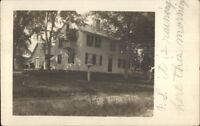 Home - Granby CT Cancel c1910 Real Photo Postcard