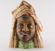"""Tobacco Jar Humidor Blackamoor/Arabic (7 1/2"""" Tall)"""