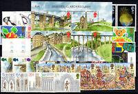 GB UK Großbritannien Jahrgang 1989 postfrisch ** MNH yearset ohne Freimarken
