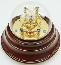 Muy raras oro PTD helicoidal espiral cronómetro escape demostración de palanca