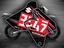SUZUKI DRZ400SM GRAPHICS STICKER YOSHIMURA EXHAUST 2002 - 2018