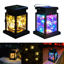 1-3x Solar Star Led Lantern Hanging Lights Outdoor Garden Patio Decor Xmas Lamp