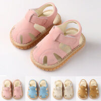 Newborn Baby Girls Boys Roman Shoes Sandals First Walkers Shoes Soft Sole Shoes