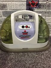 BISSELL Little Green ProHeat Portable Carpet / Upholstery Cleaner 1425-1 Working