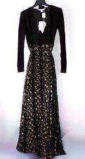 NWT Diane von Furstenberg DVF Long Sleeves Wrap Tie Waist Maxi Dress~size 0