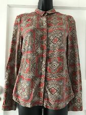 Ladies Vintage Style Shirt/Blouse Size 36 Approx UK Size 12 From Reserved (25/8)