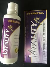 Vitality fx Liquid Vitamins Essential Nutrition Concentration- New Sealed Bottle