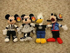 "New listing Disney World Mickey Mouse Minnie Donald Goofy 8"" American Idol Bean Bag Plush"