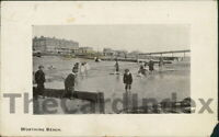 WORTHING West Beach Postcard SUSSEX Arcadia Bazzar