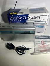 Emerson Portable CD Player Model # PD5198 AM/FM Radio Boombox AC/DC - TESTED