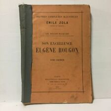 Complete Works Illustrated by Emile Zola - the Rougnon Macquart 1906 Tome 1