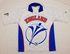 UEFA Euro 2000 England Soccer Polo Shirt Size L Hard to Find
