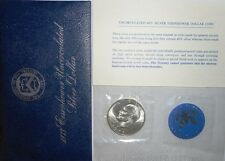 1973-S EISENHOWER BU BLUE PACK 40% SILVER IKE DOLLAR LT2908