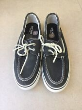 Sperry Ladies Bahama Canvas Boat Shoe Size 6.5 Brand New