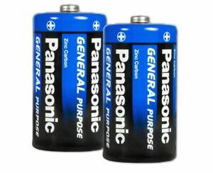 24x Panasonic Batterien - TYP: C - R14 - Zink / Kohle - Batterie
