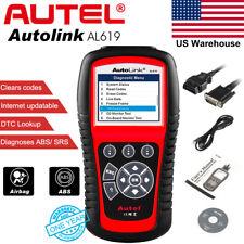 Autel Autolink AL619 Code Reader Auto Car Diagnostic Tool Scanner SRS ABS Reset