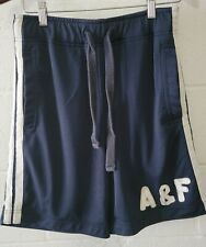 Abercrombie And Fitch Basketball/Gym Men's Shorts Navy Blue Xs - 28-31W