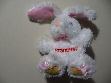 """4"""" plush Starburst Bunny Rabbit doll, good condition"""