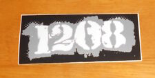 1208 Sticker Original Promo (rectangle) 3.5x1.5 Punk