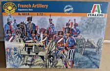 ITALERI FRENCH ARTILLERY 1:72 SCALE MODEL SOLDIERS NAPOLEONIC WARS GUN HORSES