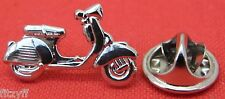 Silver Colour Mod Scooter Mods Lapel Hat Tie Pin Badge Lambretta Style Souvenir