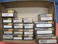 Lot of 17 Vintage Holley Carburetor Floats