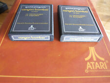 Atari 2600 région Free offers/COMBINE-Text Label A-cx2607 Canyon Bomber