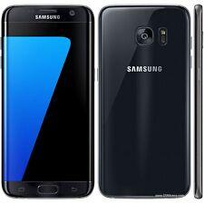 Brand New UK Samsung Galaxy S7 Edge Black G935F 4G Unlocked 32GB Mobile phone