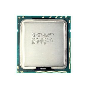 Intel Xeon X5690 SLBVX 6x 3.46 GHz 6-Core ≈W3690   Mac Pro & Server Upgrade