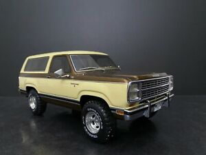 1979 Dodge Ram Charger Beige/Brown metallic BoS LE 1 of 300 1/18 Scale Rare!
