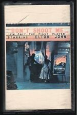 Don't Shoot Me I am Only the Piano Player - Elton John - Audio Cassette - Free S