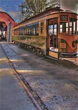 Retro Train Vinyl Photo Backdrop Baby Prop Photography Background Children 5x7ft