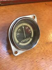 32 33 1932 1933 PONTIAC AMP GAUGE V. GOOD RAT ROD HOT SCTA VINTAGE DASH PREWAR