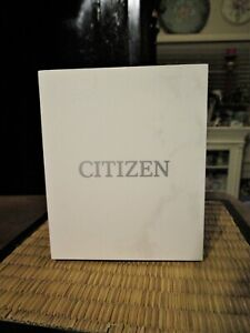 Citizen Empty Watch Box with Booklet for Model CA0649-06X