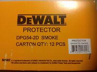 12 pack Dewalt DPG54-2D Protector Smoke High Performance   Safety GLASSES