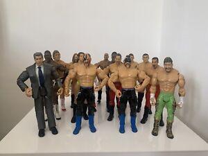 WWE Wrestling Figures Bundle Jakks Classic Superstars 15 Figure Job Lot