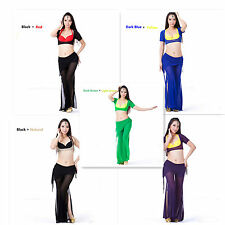Belly Dance Clothing Transparent reveal chest Top 10 Colors (Without Bra Pants)