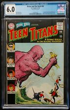 BRAVE+BOLD #60 1965 CGC 6.0 KEY BOOK 2ND APPEARANCE TEEN TITANS OFFWH-TO WHITE