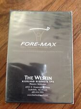 Fore-Max Golf Training Systems - Westin Resort Scottsdale (Dvd) Brand New