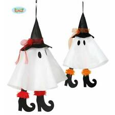 2 x Friendly Hanging Ghost Witch 50cm Halloween Party Prop Decoration